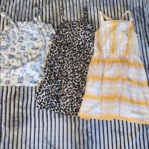 3 Piece Dress/Top Lot Set size 5T